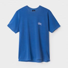 Camiseta Basic Pigmented Dyed Indigo