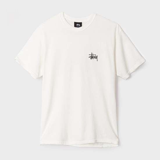 Basic Stussy Pigmented Tee Natural