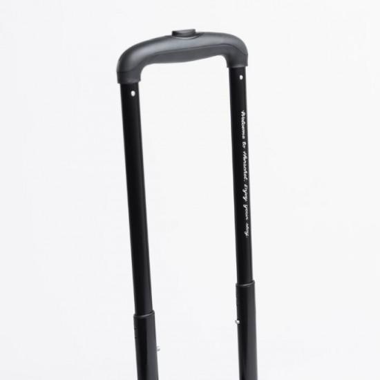 Highland Luggage Black Gridlock