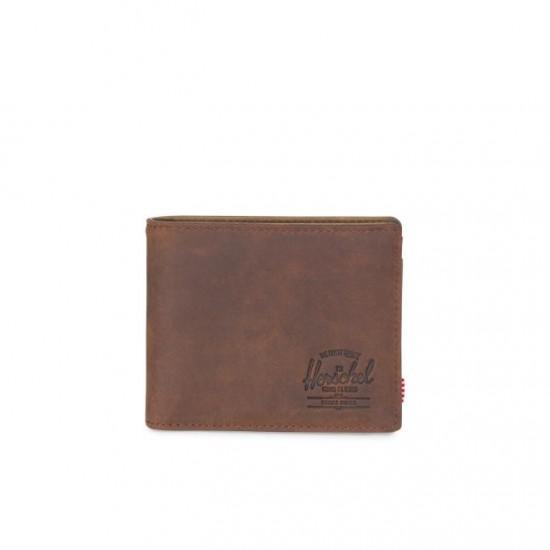 Cartera Hank Wallet Coin Nubuck Leather/RFID