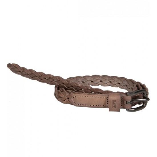 Mototxa Balboa Leather Belt Grey