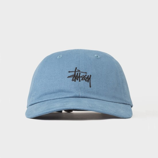 Basic Logo Low Pro Cap Blue