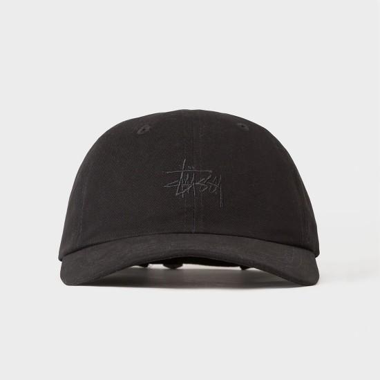 Basic Logo Low Pro Cap Black
