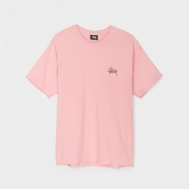 Basic Stussy Tee Dusty Rose