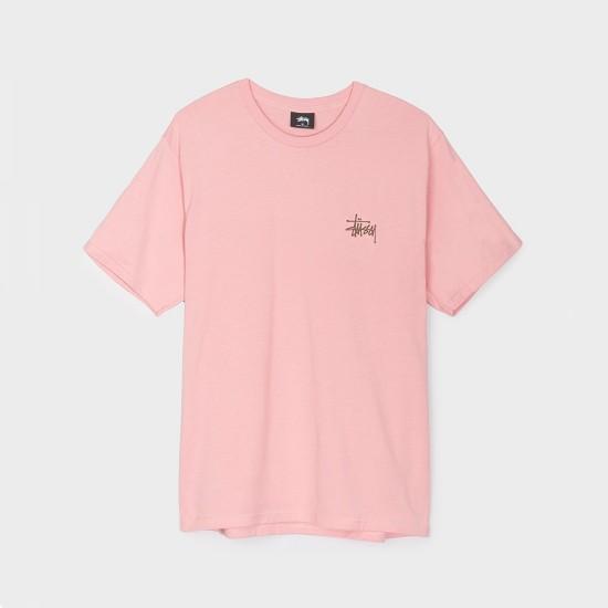 Camiseta Basic Stussy Rose