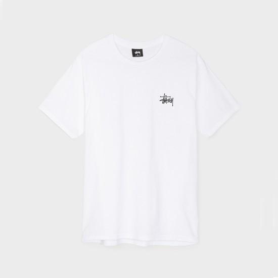 Camiseta Basic Stussy White