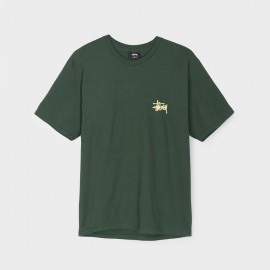 Camiseta Basic Stussy Dark Forest