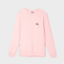 Basic Stüssy Crew Dusty Rose