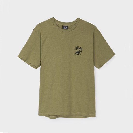 Stock Lion Tee Olive