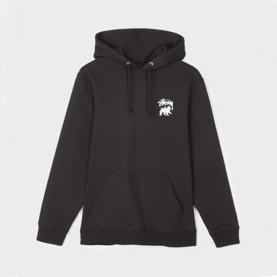 Stock Lion Hood Black