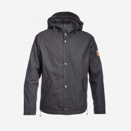 Lined Ranglan Jacket Black