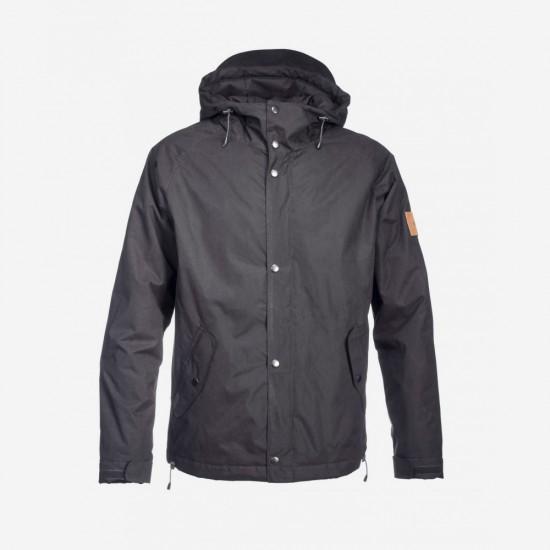 Lined Ranglan Jacket Black