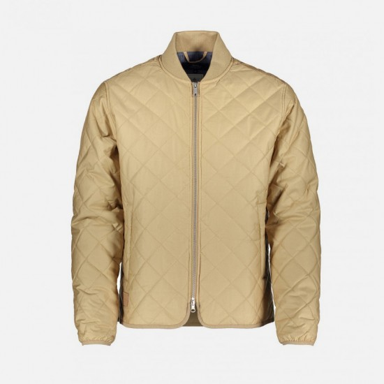 Chaqueta Quilted Khaki