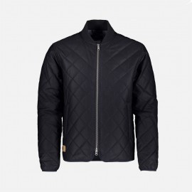 Quilted Jacket Navy