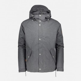 Lined Ranglan Jacket Grey