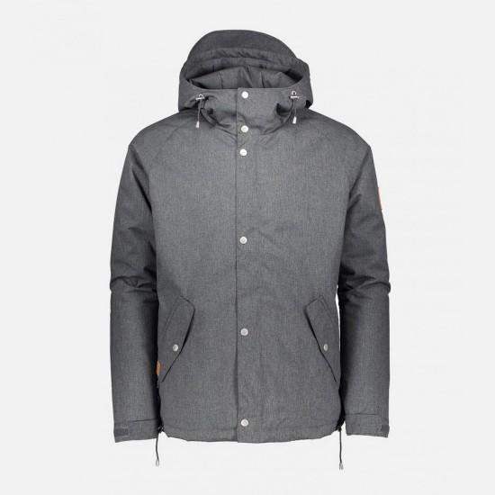 Lined Ranglan Jacket Grey