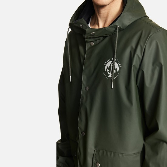 Chaqueta Harbour Rain Green