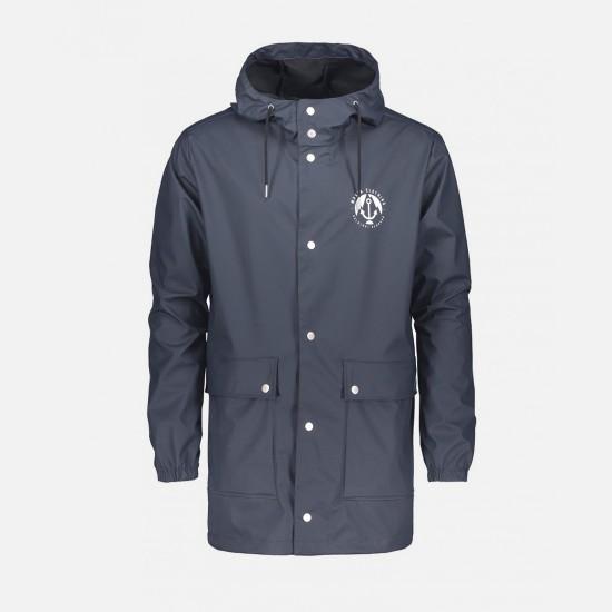 Harbour Rain Jacket Navy