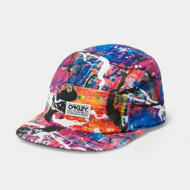 Factory Pilot 5 Panel Cap Electric Blue