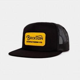Grade Mesh Cap Black Yellow