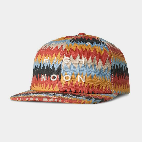 Peyote Ball Cap Red Gold