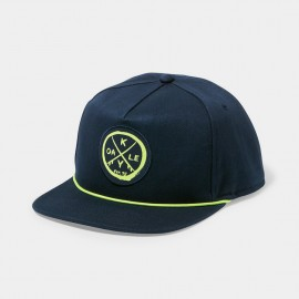 Snap Back Patch Dark Denim