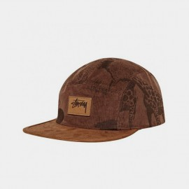 Savannah Cord Camp Cap Brown