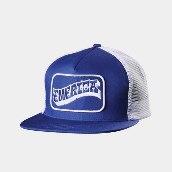 Still Rollin' Trucker Hat Blue