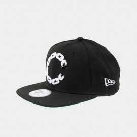 Chain C Logo Snapback  Black
