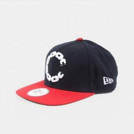 Chain C Logo Snapback  Navy Scarlet