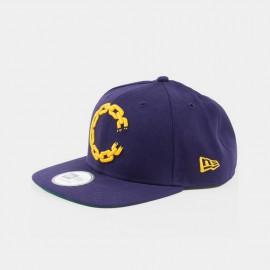 Chain C Logo Snapback  Purple
