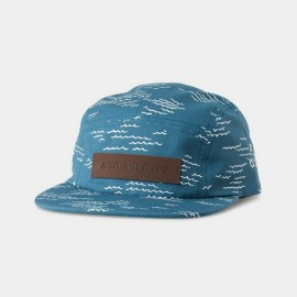 Wavy Camp Hat Blue