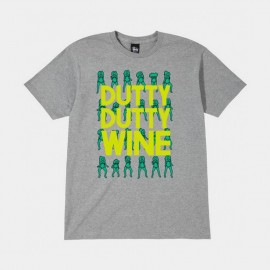 Dutty Dutty Tee Grey Heather