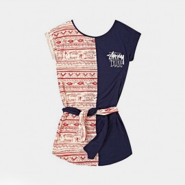 Tribe Dress Navy