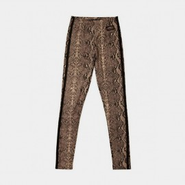 Python Leggings Brown