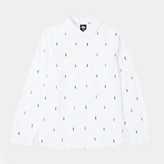 King Stripe Shirt Light Blue