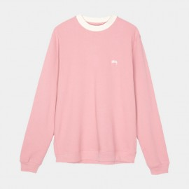 Sudadera Diamond Collar Heavy Pique Pink