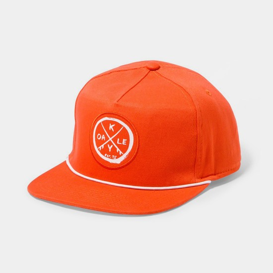 Snap Back Patch Grenadine