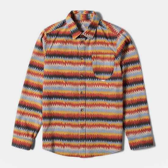 Peyote Woven Red Gold