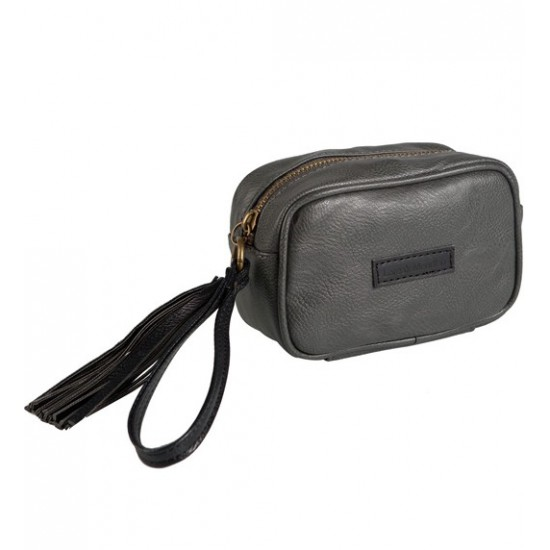Borla Wallet Grey Black