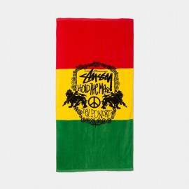 Hold The Medz Towel Rasta