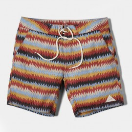 Sallt Boardshort Red Gold