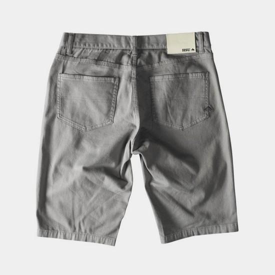 HSU Twill Short Grey