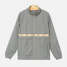 Lewis Track Jacket Grey