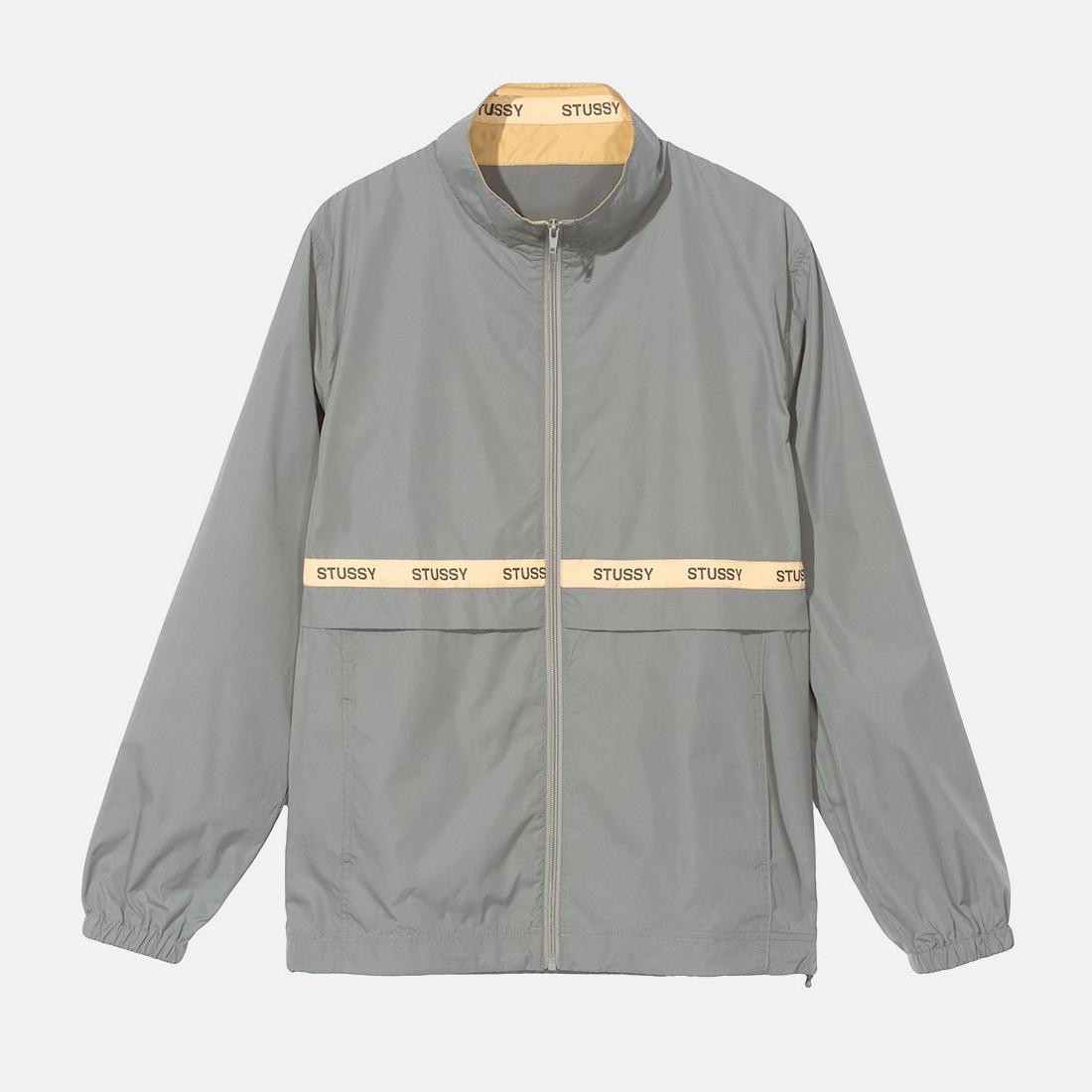 c5d49264a Buy Stüssy men's clothing | Online clothes | Lewis Track Jacket Grey