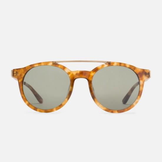Luca Sunglasses Tortoise / Green