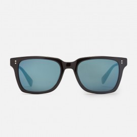 Angelo Sunglasses Black / Blue mirror