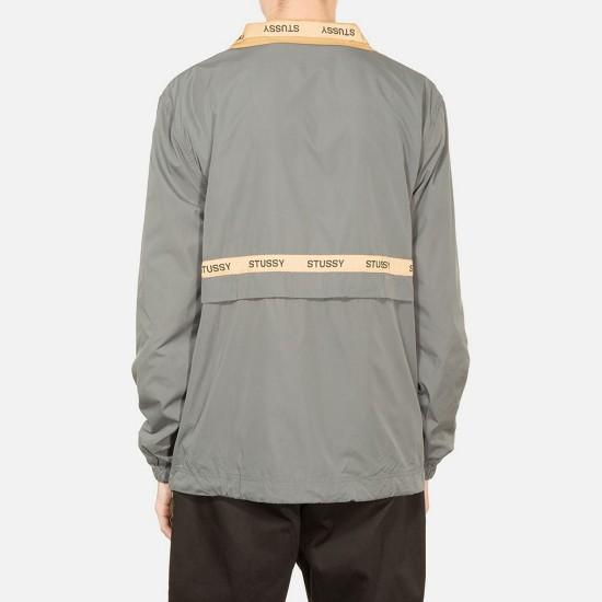 Lewis Track Jacket Grey