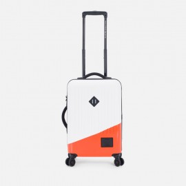 Trade Power Luggage Small White/Vermillion Orange