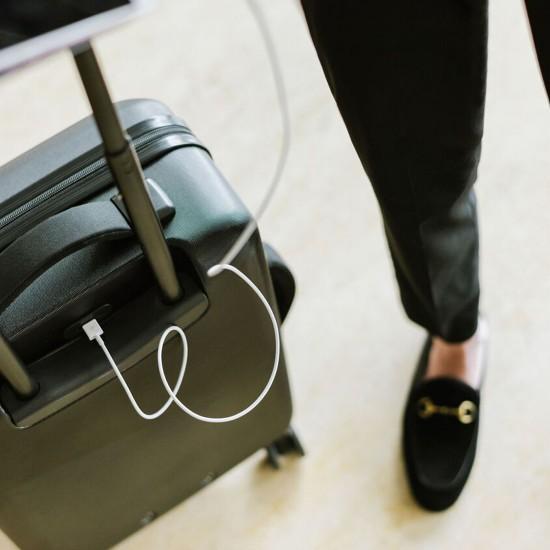 Trade Power Luggage Small Black/Black
